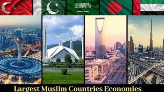 Top 10, Muslim, Countries, With largest, economy, 2019, nominal gdp, | richest muslim countries,
