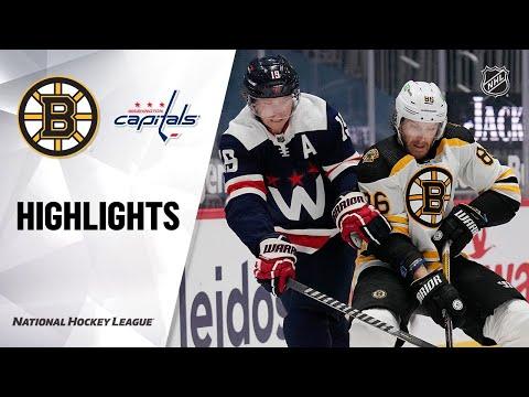Bruins @ Capitals 4/8/21 | NHL Highlights