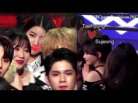 Taehyung & Sujeong MBC Gayo Daejun 2017 Moment