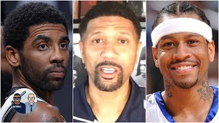 Jalen Rose compares Kyrie Irving's game to Allen Iverson after win vs. the Clippers | Jalen & Jacoby