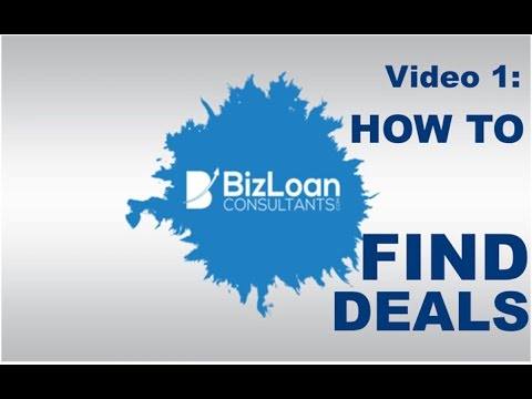 Video 1: How to find deals as a business loan broker. How to start a finance company.