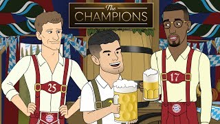 Christian Pulisic Parties at Oktoberfest   The Champions S1E4