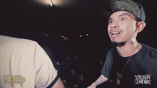 FlipTop - Loonie vs Tipsy D @ Isabuhay 2016 Semifinals