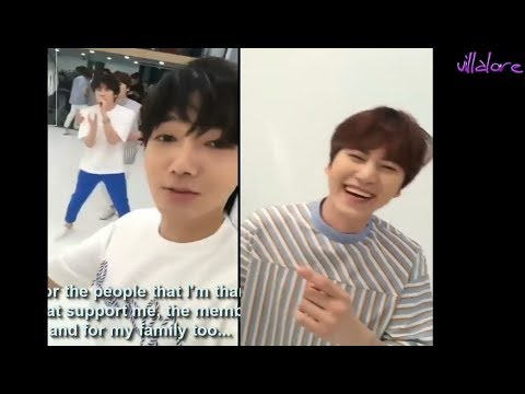 Kyuhyun being the evil maknae with Yesung! (Eng/Esp)