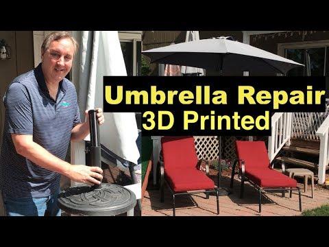 Outdoor Umbrella Stand Repair for under $4.00!