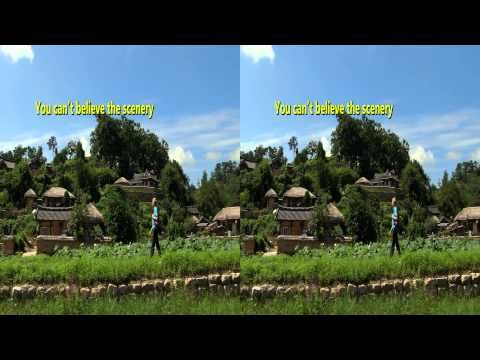 [Korea3DShowcase2012] Unesco World Heritage Sites: The World Heritage of Korea 3D by 4 Seasons B&C