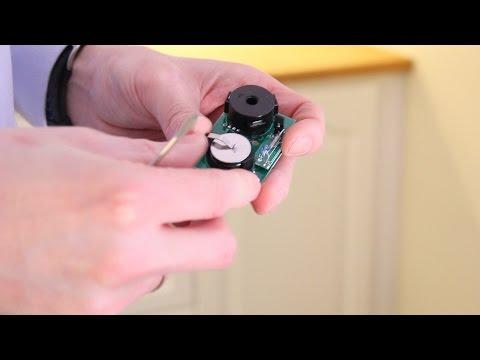 Slik bytter du batteri i komfyrvakt-sensor
