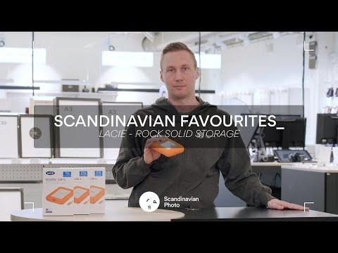 Scandinavian favourites: Lacie-hårddiskar – stabil och säker lagring