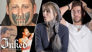 Tattoo Artists Fix Bad Tattoos | Tattoo Artists Answer