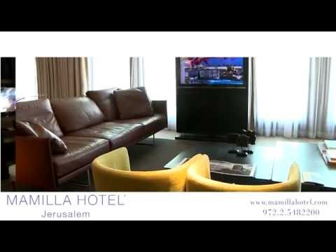 Mamilla Hotel - Introduction. Five star hotel in Jerusalem