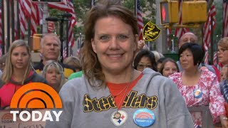 This School Nurse Is Thrilled With Her Ambush Makeover: 'I Love It!' | TODAY