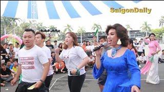 Lô tô show: Lộ Lộ và dàn mỹ nữ SG Tân Thời quẩy banh Suối Tiên với sinh viên Hutech
