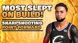 Best Playmaking Build! Most Slept on Build! Sharpshooting Point Forward