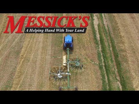 Hay Tools | Wheel vs Rotary Rakes Picture