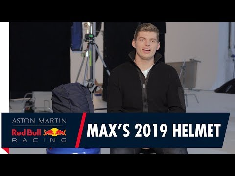 Max Verstappen Reveals His 2019 Race Helmet