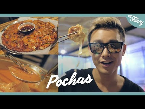 Korean Late Night Dining : Pochas