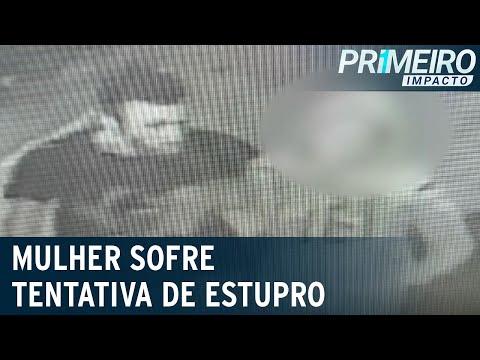 Homem tenta abusar sexualmente de vítima durante assalto | Primeiro Impacto (20/07/21)