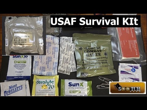 USAF Survival Kit Medical Module Review