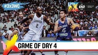 Canada v Philippines was a battle to the final second! | Full Game | FIBA 3x3 World Cup 2018