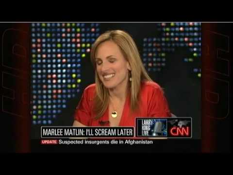 Marlee Matlin on Larry King Live (Subtitles) - YouTube