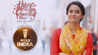 Keerthy Suresh Birthday Song Teaser - Miss India..