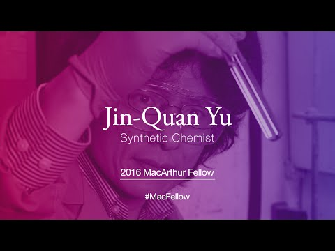 Synthetic Chemist Jin-Quan Yu | 2016 MacArthur Fellow