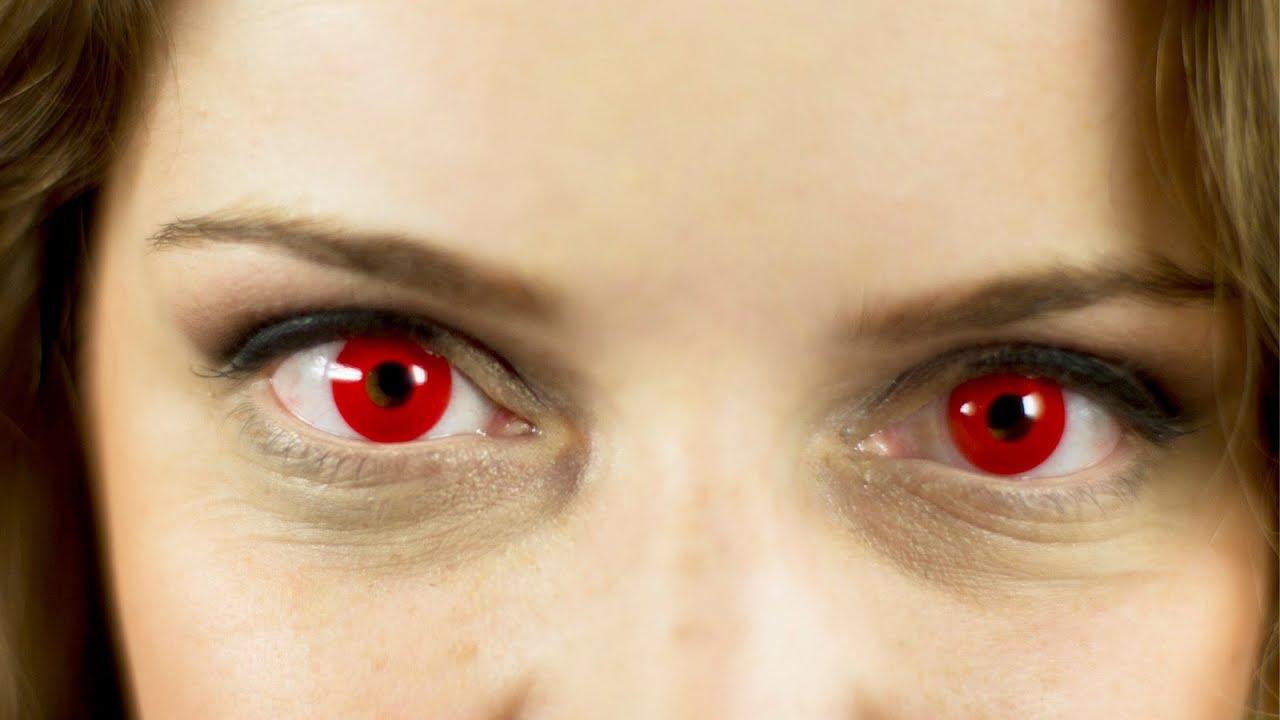 Картинка красные глаза