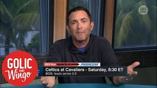 Stugotz: LeBron's decision whether to stay in Cleveland has already been made | Golic & Wingo | ESPN