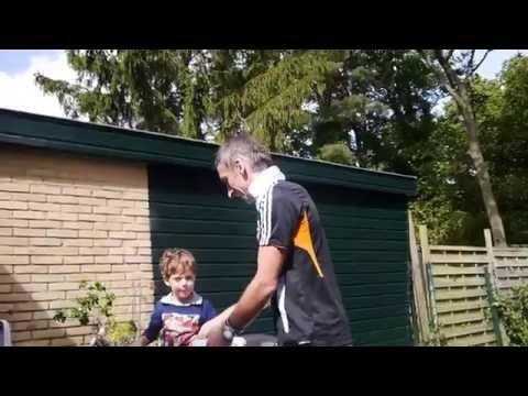 Matthew Wheatley takes the Ice Bucket Challenge