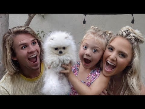WE SURPRISED OUR DAUGHTER WITH HER FIRST PUPPY!!! (CUTEST REACTION EVER)