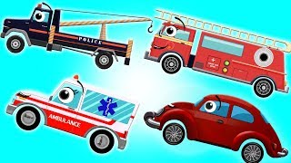 Helping Hand | Police Tow Truck | Ambulance | Fire Truck