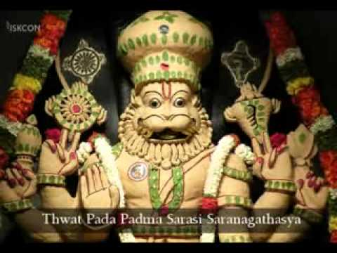 Repeat youtube video Lakshmi-Narasimha-Karavalamba-Stotram-by-Adi-Shankaracharya