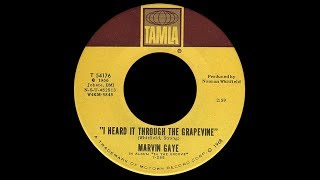 Marvin Gaye ~ I Heard It Through The Grapevine 1968 Soul Purrfection Version