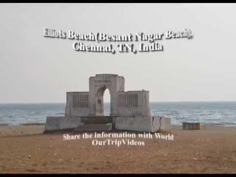 Pictures of Elliots Beach (Besant Nagar Beach), Chennai, TN, India