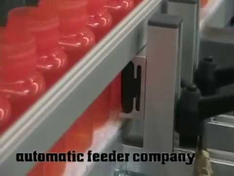 Bottle Conveyor, Elevator, and Bladder Stop Demonstration
