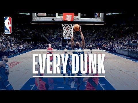Enes Kanter, Anthony Davis, and Every Dunk From Sunday | January 14, 2018