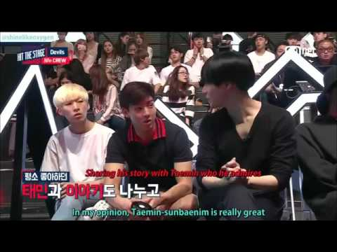 HIT THE STAGE -Taemin SHINee cut part 1/3 (engsub)