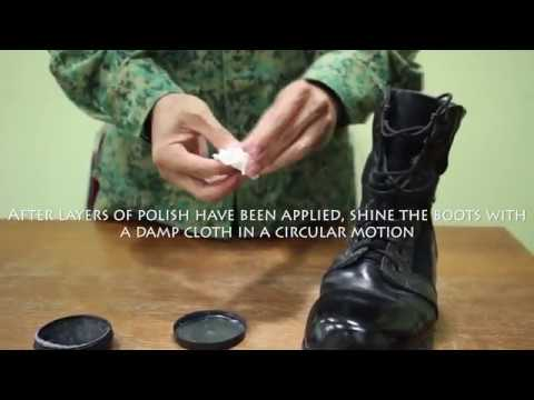 NCC 101: How to polish boots!