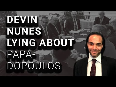 Nunes Says Trump Never Met George Papadopoulos. Here's a Pic of Them