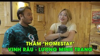 Thăm căn phòng như homestay của vợ chồng Vinh Râu - Lương Minh Trang