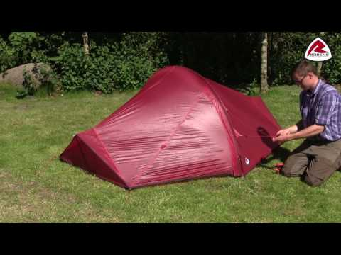 Buzzard UL Pitching Video - Pure Outdoor Passion