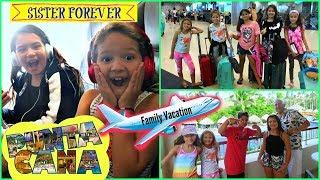 "TRAVELING TO PUNTA CANA ""FAMILY VACATION VLOG"" ALISSON&EMILY"""
