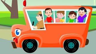 Räder auf dem Bus   Busreim   Wheels On The Bus   Kids Rhymes Deutschland   Deutsch Kinderlieder