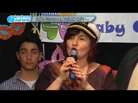 8  GRANDE SUCCESSO PER MASCHERINE IN TV 2 TG DELLO JONIO 01 03 2017