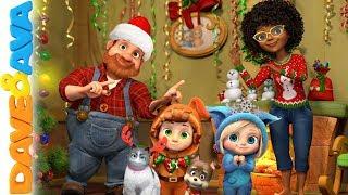 🎄Christmas Songs for Kids   Nursery Rhymes and Christmas Songs   Dave and Ava 🎄