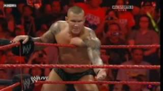John Cena & Randy Orton vs Jack Swagger & Batista 2/2
