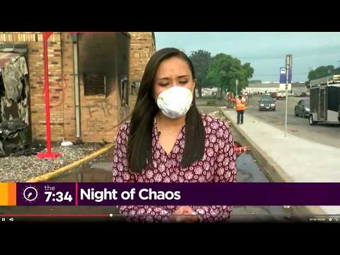 Minneapolis fires and riots
