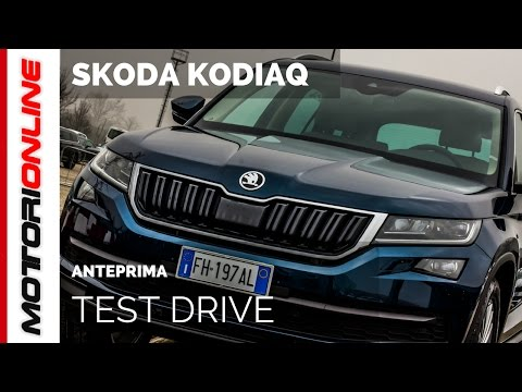 Skoda Kodiaq   Test Drive in Anteprima