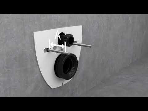Miska WC Geberit Acanto – system mocowania EFF2 (Easy Fast Fix)