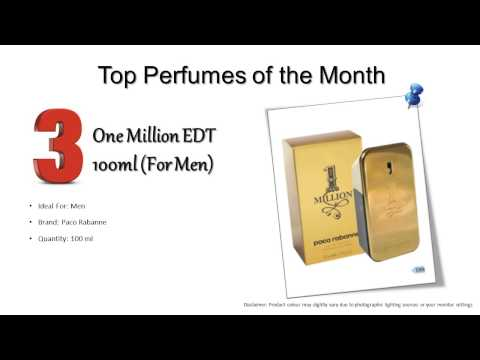 Top Perfumes for Men & Women in Feb 2013 at MYfume.com